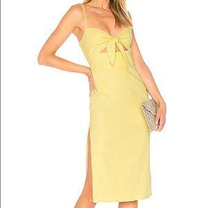 Majorelle Seashell Midi Dress